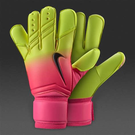 nike vapor grip 3 promo mens goalkeeper gloves pink blast volt black