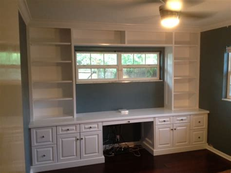 Tampa Florida Custom Carpentry Work  Ee  Built Ee   In Bookcase