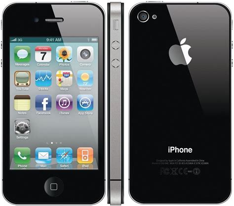 iphone from cricket apple iphone 4 32gb smartphone cricket wireless black