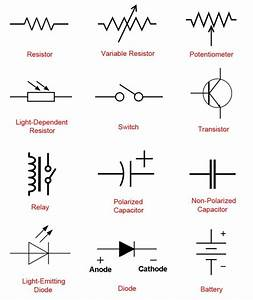 Yh 0883  Automotive Relay Electrical Symbols Electrical