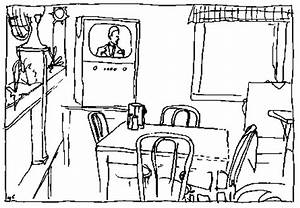 Restaurant Coloring Sheets Coloring Pages