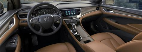 buick lacrosse interior features