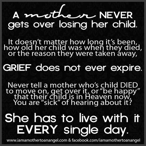 Mother Losing Child Quotes
