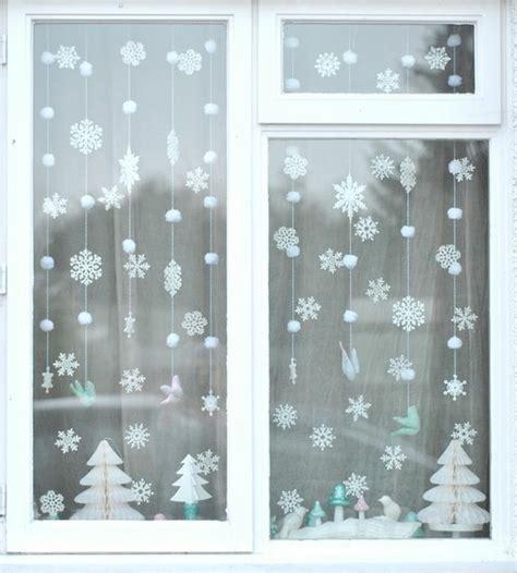 Weihnachtsdeko Fenster Watte by Wundersch 246 Ne Vorschl 228 Ge F 252 R Winterdekoration