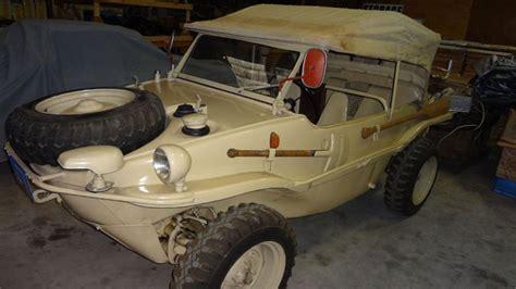Meet The Type 166 Schwimmwagen
