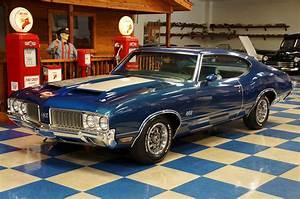 1970 Oldsmobile 442  U2013 Twilight Blue    Silver  U2013 A U0026e Classic