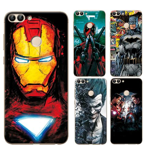 charming painted case cover  huawei p smart marvel
