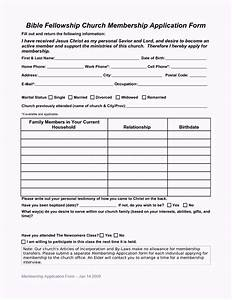 church forms templates pictures to pin on pinterest With update contact information form template