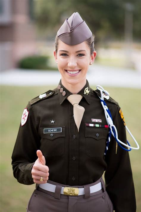 jessica scheibe  texas  corps  cadets
