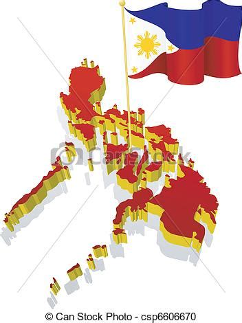 dimensional image map  philippines
