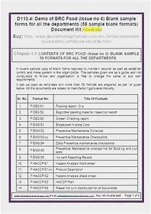Free Collection 53 Haccp Plan Template Picture