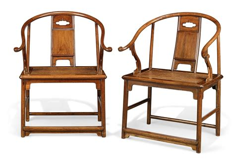 Mings Upholstery by An Extremely And Important Pair Of Huanghuali