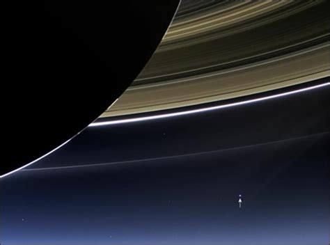 The Earth From Saturn Transition