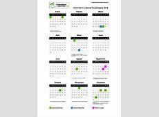 Calendario Laboral Guadalajara 2018