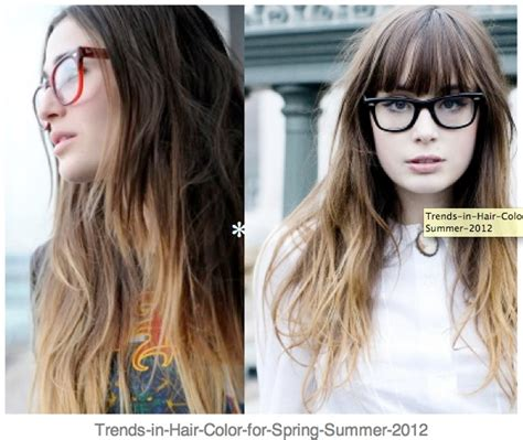 Geek Glasses Accesories Ombre Hair Hair Y Ombre Hair