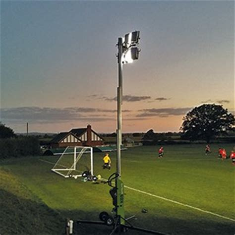 portable football floodlights ritelite portable lighting