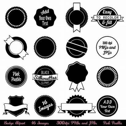 Badge Clipart Clip Stickers Tags Labels Photoshop
