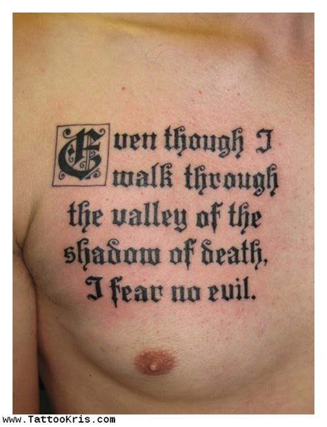 bible quotes tattoos  men quotesgram