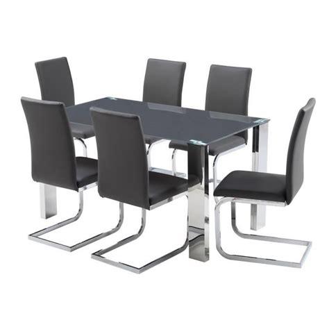 6 chaises pas cher table a manger et chaises pas cher ukbix