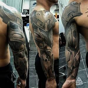 Cyborg Armor Sleeve | Best tattoo ideas & designs | TATS ...