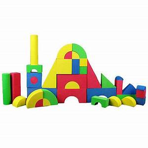 Schaumstoff Bausteine Kinderzimmer : xl eva softbausteine 37tlg schaumstoff spielzeug ~ Watch28wear.com Haus und Dekorationen