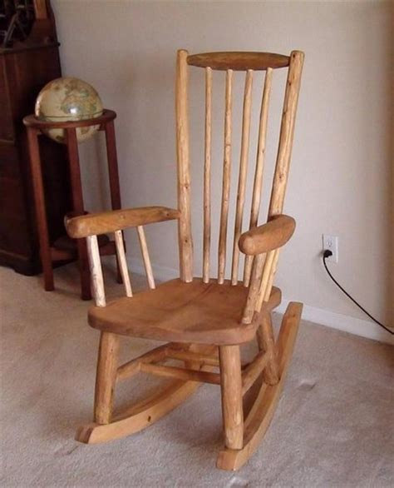 rustic rocking chair by superdave02 lumberjocks