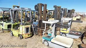 7  Salvage Forklifts