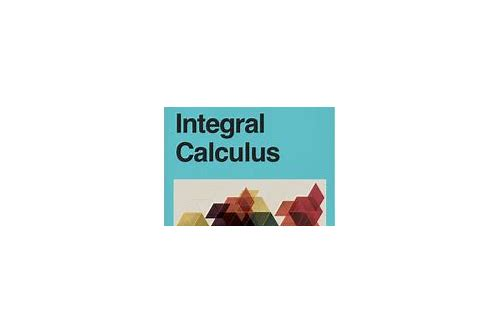 integral calculus books free download
