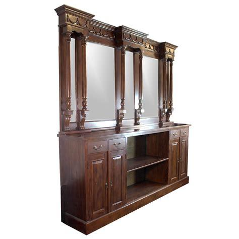 Back Bar Furniture by 8 Mahogany Back Bar Furniture Antique Replica