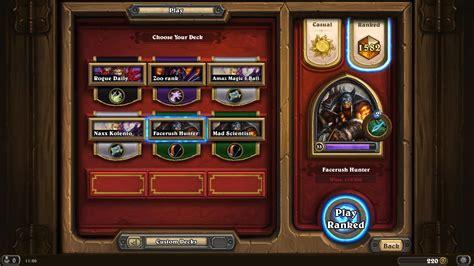 hearthstone aggro legendary deck guidescroll