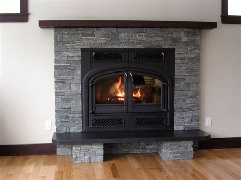 Slate Veneer Fireplace - 46 best images about fireplace on thin