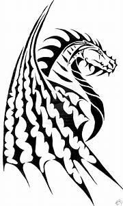 Pics For > Tribal Dragon Head Drawing