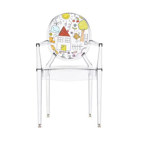 Chaise Kartell Enfant by Kartell Chaise Pour Enfants Lou Lou Ghost Tranparent
