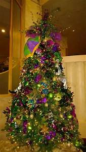 My Christmas Tree Mardi Gra Inspired Made The Masks From