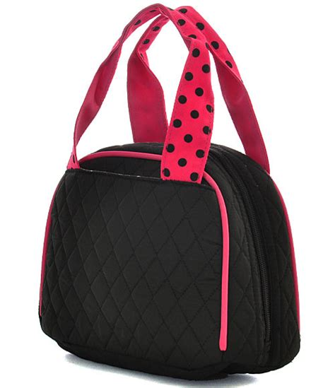 quilted lunch bag