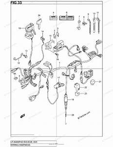 Suzuki Atv 2002 Oem Parts Diagram For Wiring Harness