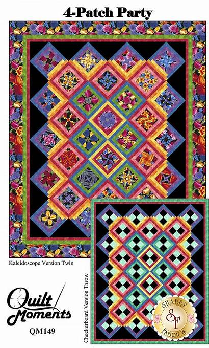 Party Patch Quilt Pattern Patterns Fabric Patches