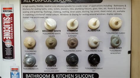 silicone soudal  purpose ml tile grout