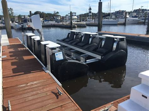 Round Boat Lift Tanks by Floating Boat Lifts The Hull Truth Boating And Fishing