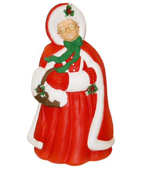 general foam plastics light up mrs claus christmas