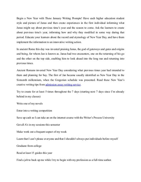 New Year Festival Essay by New Year S Creative Writing From Admission Essay Writing