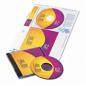cd dvd label and insert combo sheets by averyr ave8696 With cd labels and inserts