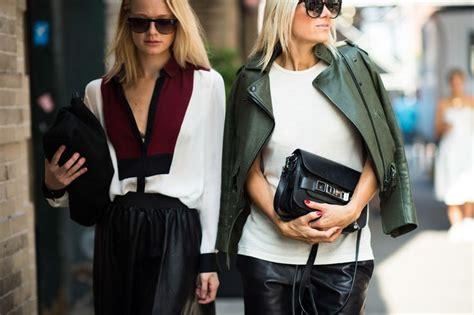 Women's Dark Green Leather Biker Jacket, White Tank, Black