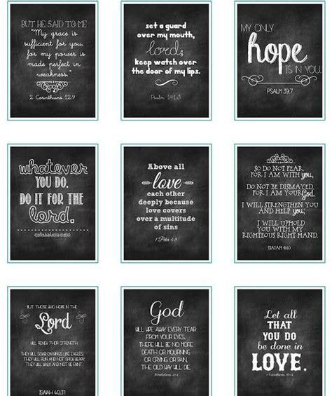 chalkboard verses printables scripture