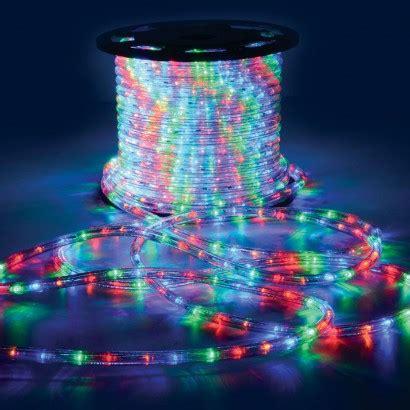 50m led multi coloured rope light