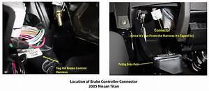 Locating Brake Controller Connector On 2005 Nissan Titan