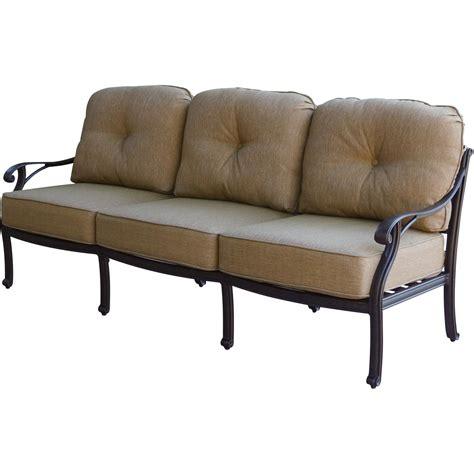 Darlee Patio Furniture Nassau by Darlee Nassau Cast Aluminum Patio Sofa Ultimate Patio