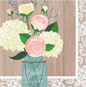 bridal shower plates and napkins best inspiration from With wedding shower plates