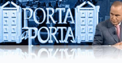 Porta A Porta Di Questa Sera by Pier Luigi Foschi Questa Sera A Porta A Porta Di Bruno Vespa