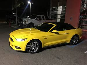 2015 Gt triple yellow convertible - The Mustang Source - Ford Mustang Forums